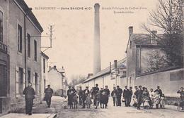 BAZANCOURT USINE BAUCHE ET CIE GRANDE FABRIQUE DE COFFRES FORTS INCOMBUSTIBLES ,JOLI PLAN ANIME  REF 71832 - Bazancourt