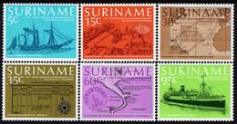 Surinam - 1977 - Regular Passenger Steam Service With Netherlands - Mint Stamp Set - Suriname