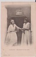 ALGERIE-CONSTANTINE-Mauresques Sur Leur Porte - Women