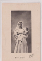 ALGERIE-femme Alaitant Son Enfant-BOU-SAADA - Women
