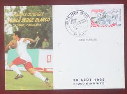 Rugby : Jubilé Serge Blanco Au Stade D'Aguiléra A Biarritz En 1992 - Rugby