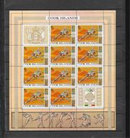 Olympische Spelen  1968 , Cook Islands  - Zegels In Velletjes Postfris - Estate 1968: Messico