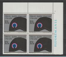 REPUBBLICA:  1989  RIVOLUZIONE  FRANCESE  -  £. 3150  POLICROMO  BL. 4  N. -  SASS. 1877 - Hojas Bloque