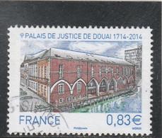 FRANCE 2014 PALAIS DE JUSTICE DE DOUAI OBLITERE YT 4902 - - Gebraucht