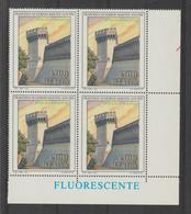 REPUBBLICA:  1989  ARTE  ITALIANA  -  £. 500  POLICROMO  BL. 4  N. -  SASS. 1878 - Hojas Bloque