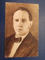 Old Post Card Film Cinema Silent Movie Star Actor Mikhail Chekhov 1920s - Acteurs