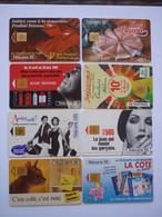 Lot 8 Télécartes Divers - Collezioni