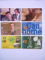 Lot 6 Télécartes Divers - Collezioni