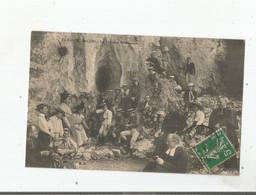 LE BEAUCENS SAINT CENS (VAUCLUSE) LA FONTAINE MIRACULEUSE (BELLE ANIMATION)  1913 - Autres Communes