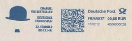 625  Charlie Chaplin: Ema D'Allemagne, 2012  -  Cinema, Film  Meter Stamp From Germany - Cinema