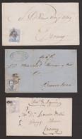 1872 Lote 3 Cartas - Cartas