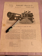 Machine à Bois GUILLIER FILS Auxerre - Tools