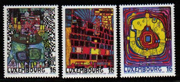 Luxemburg 1995 European Cultural Capital Y.T. 1310/1312 ** - Nuovi