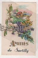 50 MANCHE - CP AMITIES DE SARTILLY - CEKO - CIRCULEE EN 1952 - Altri Comuni