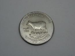 Moneta Coin Republica De Cuba 1 Peso 1982 Alimentos Para Todos - SPL - Cuba