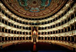 N°86076 -cpsm Piacenza -interno Teatro Comunal- - Piacenza