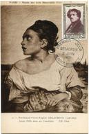 FRANCE CARTE MAXIMUM DU N°892 DELACROIX AVEC OBLITERATION PREMIER JOUR 2 JUIN 1951 SAINT MAURICE - 1950-59