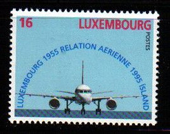 Luxemburg 1995 Joint Issue With Iceland  Y.T. 1324 ** - Nuovi