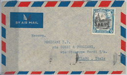 59482 -   CYPRUS - POSTAL HISTORY:  COVER To ITALY - 1952 - Cyprus (...-1960)