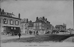 SEDAN --TORCY -- Place De Commune- Un  Petit Attelage De Chien Et Une Roulotte - Sedan