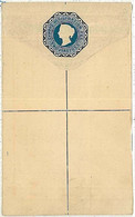 28093    CYPRUS  - POSTAL STATIONERY COVER : TWO PIASTRES - Cyprus (...-1960)