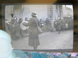 Lot 12 Négatifs Souples Photos Originales Novembre Décembre 1939 Défilé Militaire Et Scènes Au Campement - Guerre, Militaire