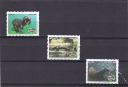 Brasil Nº 3035 Al 3037 - Unused Stamps
