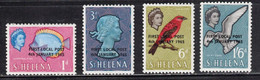 ST HELENA Scott # 176-9 MH - First Local Post Overprint - Isola Di Sant'Elena