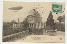 MEUDON- Château Et Ancienne Résidence Royale Incendiée Pendant La Guerre De 1870 - ZEPPELIN - DIRIGEABLE-éditeur COLAS - Meudon