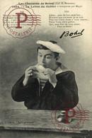 VII LES CHANSONS DE BOTREL 1864 LA LETTRE DU GABIER INTERPRETÉE PAR MAYOL    Ship Navy Navire Boat - Non Classificati