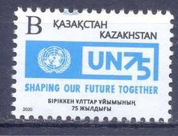2020. Kazakhstan, 75y Of UNO, 1v, Mint/** - Kazajstán