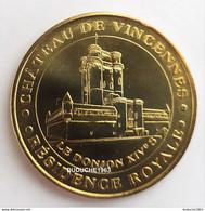 Monnaie De Paris 94.Vincennes - Le Château Et Le Donjon 2007 - 2007