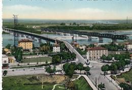 10172-PIACENZA-I PONTI SUL PO-1955-FG - Piacenza