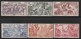 WALLIS Et FUTUNA - PA N°5/10 ** (1946) Tchad Au Rhin - Ongebruikt