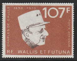 WALLIS Et FUTUNA - PA N°48 ** (1973) Général De Gaulle - Ongebruikt