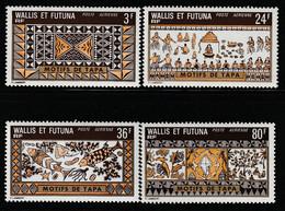 WALLIS Et FUTUNA - PA N°58/61 ** (1975) Artisanat - Ongebruikt