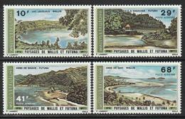 WALLIS Et FUTUNA - PA N°67/70 ** (1975) Paysages - Ongebruikt