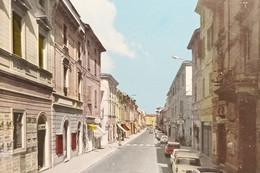 Cartolina - Castel S. Giovanni - Corso G. Matteotti - 1969 - Piacenza