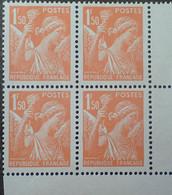 R1098/181 - 1939/1945 - TYPE IRIS - N°435 BLOC NEUF** CdF ➤➤➤ FAUX POUR SERVIR DE L'INTELLIGENCE SERVICE - 1939-44 Iris