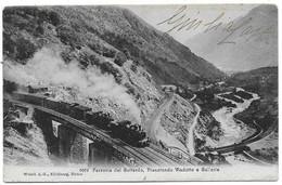 Ferrovia Del Gottardo - Pianofondo Viadotto E Gallerie. - Non Classificati