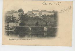 LES RICEYS - Le Vannage De RICEY HAUT - Les Riceys