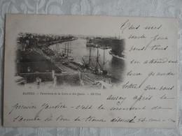 CPA NANTES - Panorama De La Loire Et Les Quais - 1899 - Précurseur - DND - Nantes