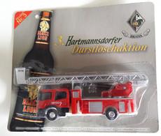 Scania Feuerwehr Trauck From Hartmannsdorfer, 1:87, 20,5 X 18 X 3 Cm. Weight 97 Gramm (BOX1) - Other