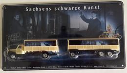 Old Scania Truck From Eibauer, Sachsens Schwarze Kunst, 1:87, 24,5 X 13,5 X 3 Cm. Weight 161 Gramm (BOX1) - Other