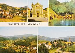 Cartolina - Saluti Da Masone - Vedute Diverse - 1972 - Genova (Genoa)