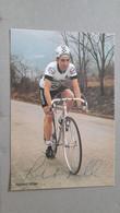 Robert MILLAR Peugeot Esso Signée - Cycling