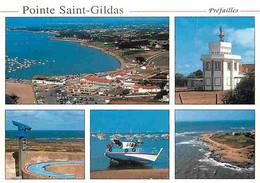 44 - Pointe Saint Gildas - Préfailles - Multivues - CPM - Voir Scans Recto-Verso - Altri Comuni
