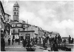 Sant'Agata Di Puglia (Foggia). Piazza XX Settembre. - Foggia