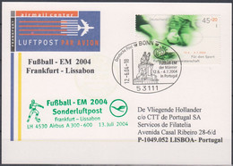 Soccer European Cup 2004 - GERMANY - Card - Eurocopa (UEFA)