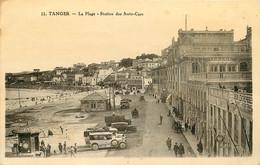 MAROC TANGER LA PLAGE STATION DES AUTO CARS - Tanger